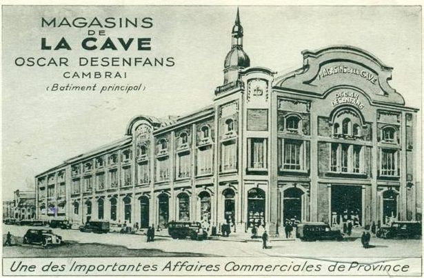 Cambrai bienvenue a cambrai mes cartes postales for Magasin d artisanat cambrai